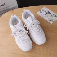 In Korea Fashion Style Super Api Sepatu Wanita Baru Sepatu Sneakers (Putih)