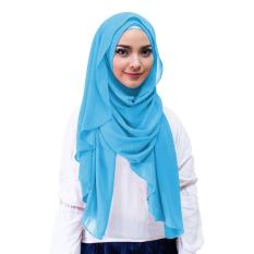 Inara Hijab Kerudung Instan - [Warna Biru]