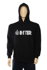 Indoclothing Hoodie Inter Milan H02 Hitam Indoclothing Diskon 50