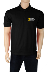 IndoClothing Polo Shirt National Geographic Learning - Hitam