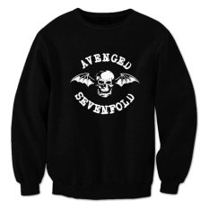 Spesifikasi Indoclothing Sweater Avenged Sevenfold S02 Hitam Lengkap