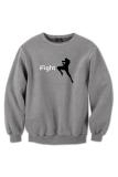 Jual Indoclothing Sweater Muay Thai Ifight Abu Misty Lengkap