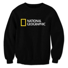 Harga Indoclothing Sweater National Geographic Hitam