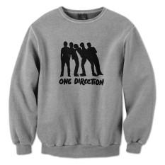 Harga Indoclothing Sweater One Direction S01 Abu Misty Dan Spesifikasinya