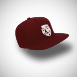 Indoclothing Topi Snapback Anonymous 2 Maroon Indoclothing Diskon