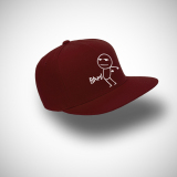 Review Pada Indoclothing Topi Snapback Bam Maroon