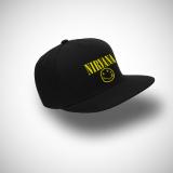 Spesifikasi Indoclothing Topi Snapback Nirvana Hitam