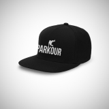 Jual Indoclothing Topi Snapback Parkour Hitam Indoclothing