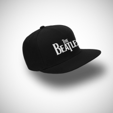 Jual Indoclothing Topi Snapback The Beatles Hitam Baru