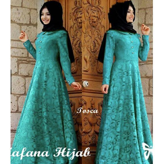 38b1cca4e5c Indonesia Heritage Dress Muslim Terbaru - Baju Kondangan Muslimah Murah - Hijab  Dress - Maxi Dress