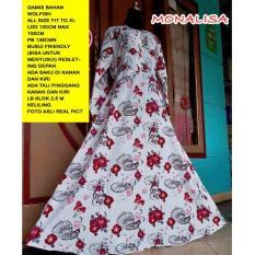 Indonesia Heritage - Gamis Jumbo - Maxi Dress - Ukuran Besar - Busui - Bumil - Gamis Pesta - Gaun Kondangan Muslim - Gamis Pesta - Wolfis - Monalisa