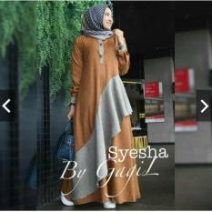 Indonesia Heritage Gamis Pesta Trendy - Syari Cantik - Kondangan Muslimah - Maxy Dress Casual - Kerja Wanita - Kebaya Modern - Terbaru - Fashion Busana Muslim Wanita ihsyesha