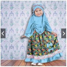 IndonesiaHeritage Gamis Pesta Anak Kiddy + Hijab Bergo + Free Bando - ihmickey
