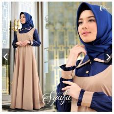 IndonesiaHeritage Gamis Pesta Casual Wisuda Trendy Balotelly - Jumbo - Kondangan Hijaber Muslimah - Remaja - Muslim wanita - Gaun Party Maxy dress ihsyafa