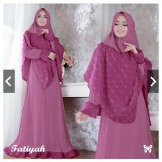 IndonesiaHeritage Gamis Syari Pesta Rubiah Impor dg Hijab Bergo kekinian - Fashion Busana Muslim Trend - Baju Kondangan Muslimah - Nikahan - Kebaya Modern - Ihfatiyah