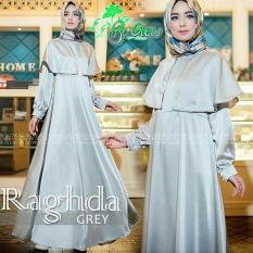 IndonesiaHeritage Gamis Syari Pesta satin Velvet Chick n  Elegan - Kondangan Muslimah Hijaber - Wisuda - Remaja - Gaun Party Maxy Dress  ihraghda