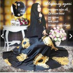 IndonesiaHeritage Gamis Syari Pesta Mewah Elegan 1 set dengan Khimar - Gamis Pesta Premium - Fashion Baju Kondangan Muslimah Hijaber Hijab jilbab - Gaun Pesta Party dress Wanita Maxmara Silk Saten Velvet - Kebaya Modern Maxy dress ihelegancy