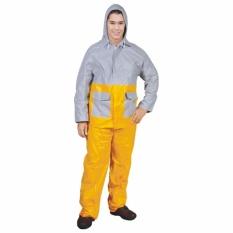 Indoplast Jas Hujan Kombinasi Premium - Kuning