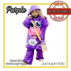 Indoplast Jas Hujan Mantel Anak Kido Unisex Purple