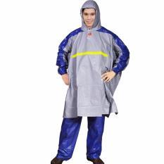 Review Terbaik Indoplast Jas Hujan Poncho Celana Getz Abu