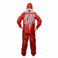 Jual Beli Indoplast Jas Hujan Setelan Batik Merah