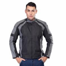 Toko Inficlo Jaket Motor Pria Jaket Best Seller Jaket Fashion Pria Smix401 Mafy Black Grey Lengkap Jawa Barat