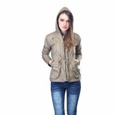 Harga Inficlo Jaket Wanita Fashion Wanita Best Seller Sfcx747 Cream Parum Yang Murah