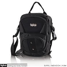 Tas Pria Selempang Mini Sling Bag Sli 975 Black Inficlo Diskon