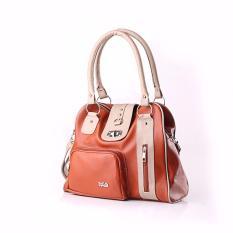 Review Toko Inficlo Shoulder Bag Tas Selempang Wanita Fashion Wanita Best Seller Snpx296 Brown