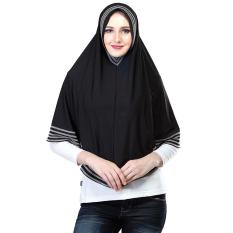 Inficlo Smr 556 Kerudung / Jilbab Syar'i Wanita - Spandek - Cantik (Hitam)