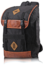 Beli Inficlo Tas Backpack Laptop Black Cordura Sbrx633 Hitam Pake Kartu Kredit