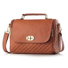 Inficlo Tas Clutch Inficlo SRI 546 Cokelat Wanita - Clutch Bag Cewek Ferari