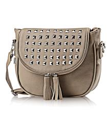 Toko Inficlo Tas Wanita Baguette Bag Manik Manik Silver Sfmx158 Grey Terdekat