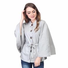 Beli Inficlo Dress Wanita Baju Atasan Wanita Fashion Wanita Best Seller Srsx958 Grey Seken