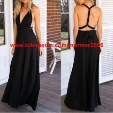 Infinity Convertible Maternity Bridesmaid Multiway Maxi Dress Grosir - Dgtvsu