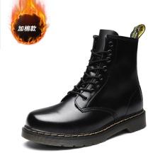 Harga Inggris Tambah Beludru Musim Dingin Remaja Pergelangan Kaki Sedang Sepatu Boot Dr Martens Hitam Tinggi Negara Tambah Beludru Sepatu Pria Sepatu Safety Sepatu Boots Pria Branded