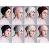 Jual Inner Hijab Ciput Rajut Premium Quality Isi 6 Pcs Bebas Pilih Warna Free 1 Pcs Bandana 2 Tone Kemuning Asli