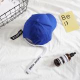 Beli Ins Korea Fashion Style Biru Pita Panjang Topi Topi Selamanya Young Biru Kredit Tiongkok