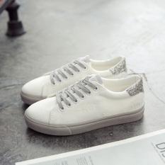 Ins Korea Fashion Style Perempuan Yang Super Api Sepatu Kets Putih Sepatu Kanvas (Abu-abu) Sepatu wanita Sepatu sport sepatu sneakers wanita