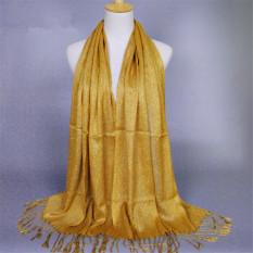 Selendang And Syal Jilbab Bergo Bahan Viscose (kuning) (Intl)-Intl