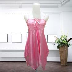 Beli Intristore Baju Tidur Lingerie S*xy Sleeping Dress Nightwear Pink G String 53 Murah Jawa Barat