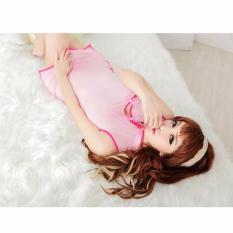 Intristore Jakarta Lingerie Nightwear Xiaoxi Dress With G-String - 93