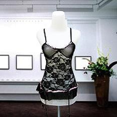 Dimana Beli Intristore Jakarta Lingerie S*xy Flower Motif Black G String 54 Jakarta Lingerie Shop