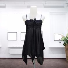 Promo Intristore Lingerie S*xy Nightwear Babydolls Black With G String 59 Akhir Tahun