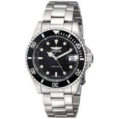 Invicta ILE8926OBA Pro Diver Jam Stainless Steel Silver And Hitam-ต่างประเทศ