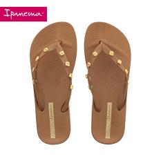 Ipanema Sandal Jepit Produk Asli Produk Baru Sendal Paku Keling Unggulan (Coklat)