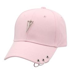Harga Iron Hoop Silk Ribbon Baseball Cap Casual Outdoor Sunhat Pink Intl Online Tiongkok