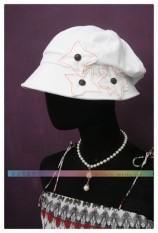 Berada Di Luar Daftar Merek Amerika Serikat Topi Bintang Niu Tombol Hingga Jahitan Mobil Perlindungan Matahari Menyembunyikan matahari Topi Beret Wanita Menghias Topi Putih-Internasional