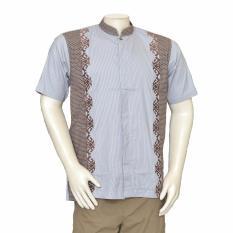 Toko Isbath Baju Koko Lengan Pendek Kdkp 160498 Cokelat Jawa Timur