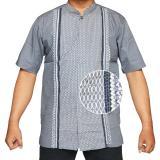 Promo Isbath Baju Koko Lengan Pendek Kdkp 160528 Abu Jawa Timur